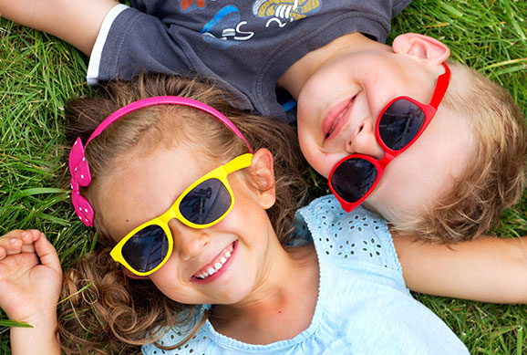 Kids with Sunglasses - Pediatric Dentist in Bluffton, SC